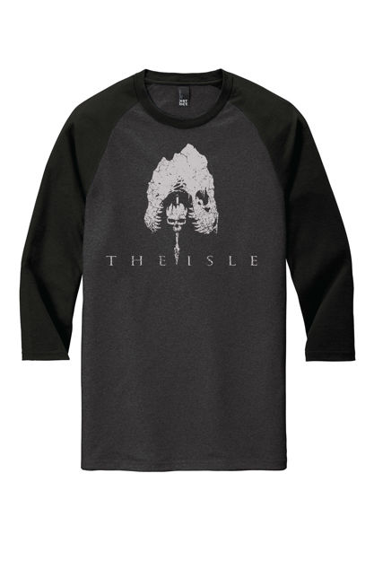 Picture of 3/4 Sleeve Triblend Tee